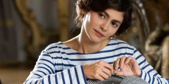 Bohém elegancia francia módra