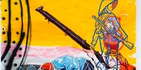 Egy festőművész transzparens emlékezete
