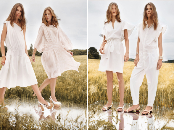 Az idei nyáron is érdemes fehér színű szettekkel erősíteni ruhatárunkat, hiszen csodálatosan kiemeli barnaságunkat.