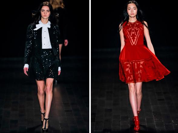 A kifutók tobzódnak a szebbnél szebb elegáns ruhákban, ötletet adva az ünnepi öltözködéshez.